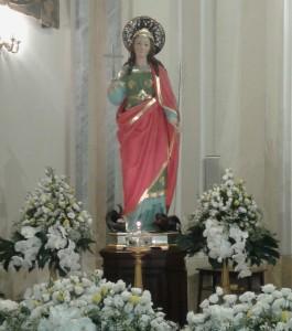 Statua Santa Margherita